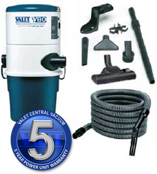 Valet V80 Power Unit with SWITCH Hose & Tool Kit