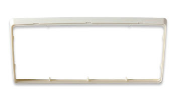 System One Trim Plate - White