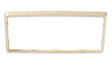 System One Trim Plate - Ivory