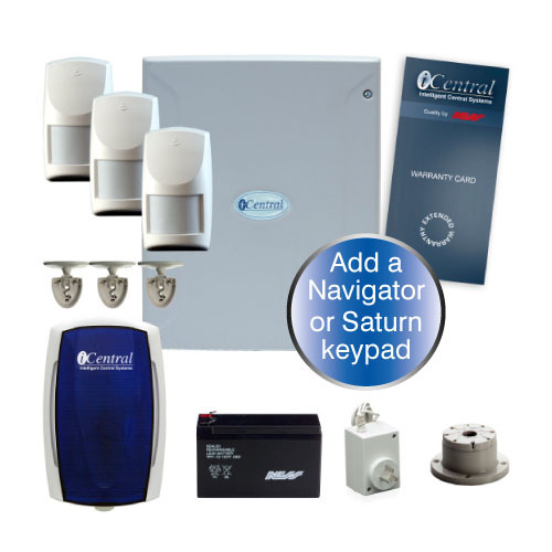 iCentral i8 8 Zone Alarm Kit
