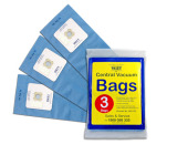 Genuine VALET Blue Vacuum Bags 3pack